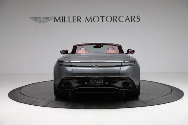Used 2019 Aston Martin DB11 Volante for sale $211,990 at Bentley Greenwich in Greenwich CT 06830 5