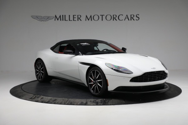 Used 2019 Aston Martin DB11 Volante for sale $209,990 at Bentley Greenwich in Greenwich CT 06830 18