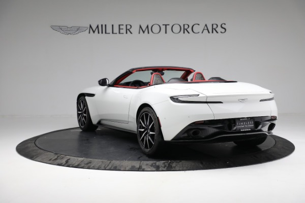 Used 2019 Aston Martin DB11 Volante for sale $209,990 at Bentley Greenwich in Greenwich CT 06830 4