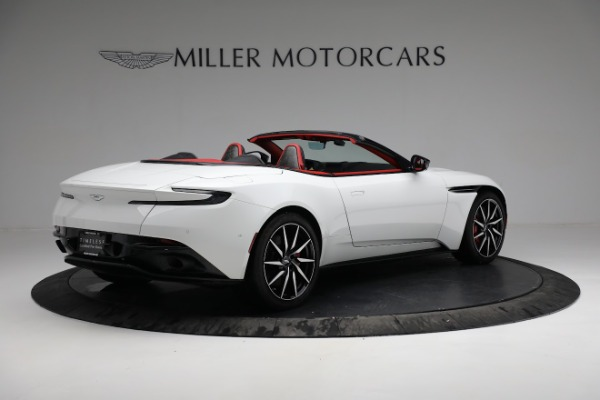 Used 2019 Aston Martin DB11 Volante for sale $209,990 at Bentley Greenwich in Greenwich CT 06830 7