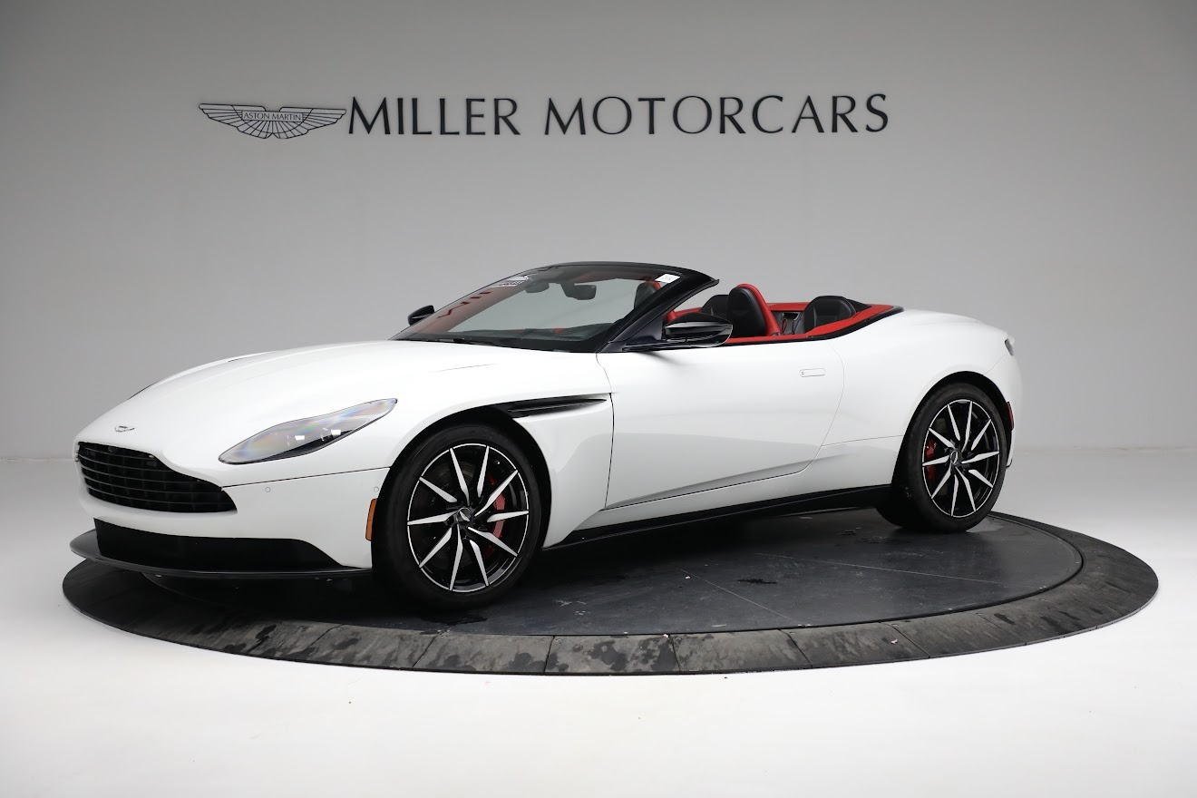 Used 2019 Aston Martin DB11 Volante for sale $209,990 at Bentley Greenwich in Greenwich CT 06830 1