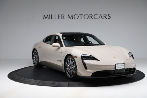 Used 2021 Porsche Taycan 4S for sale Sold at Bentley Greenwich in Greenwich CT 06830 12