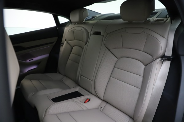 Used 2021 Porsche Taycan 4S for sale Sold at Bentley Greenwich in Greenwich CT 06830 18