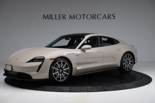 Used 2021 Porsche Taycan 4S for sale Sold at Bentley Greenwich in Greenwich CT 06830 2