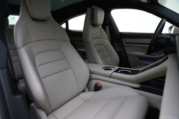 Used 2021 Porsche Taycan 4S for sale Sold at Bentley Greenwich in Greenwich CT 06830 21