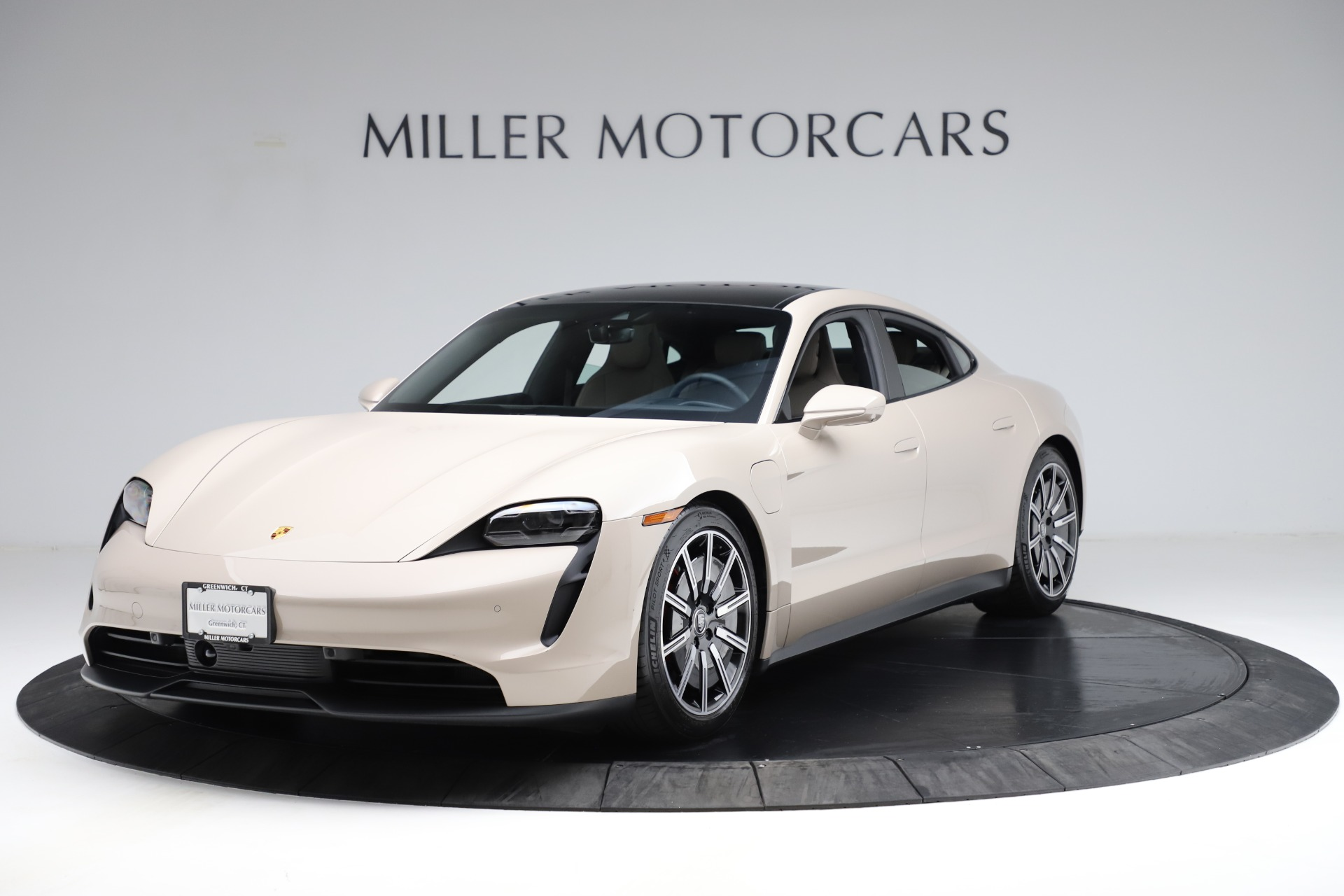 Used 2021 Porsche Taycan 4S for sale Sold at Bentley Greenwich in Greenwich CT 06830 1