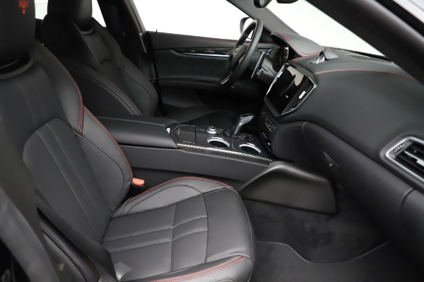 New 2021 Maserati Ghibli S Q4 GranSport for sale $100,635 at Bentley Greenwich in Greenwich CT 06830 25
