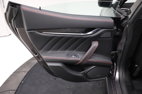 New 2021 Maserati Ghibli S Q4 GranSport for sale $100,635 at Bentley Greenwich in Greenwich CT 06830 21