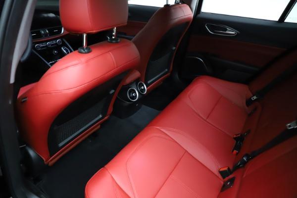 New 2021 Alfa Romeo Giulia Q4 for sale $48,535 at Bentley Greenwich in Greenwich CT 06830 19