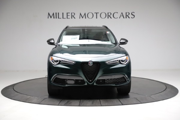 New 2021 Alfa Romeo Stelvio Ti Q4 for sale $53,650 at Bentley Greenwich in Greenwich CT 06830 12