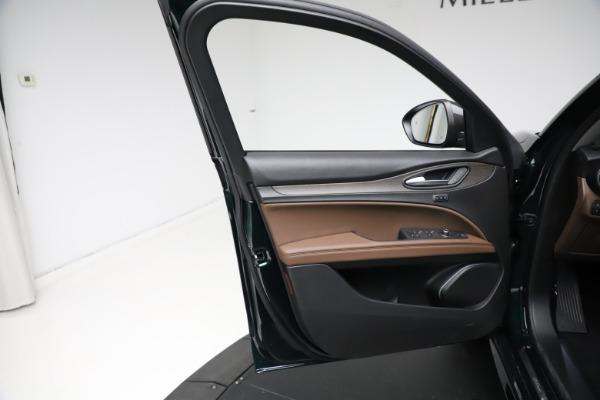 New 2021 Alfa Romeo Stelvio Ti Q4 for sale $53,650 at Bentley Greenwich in Greenwich CT 06830 17