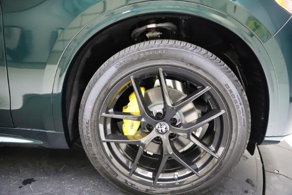 New 2021 Alfa Romeo Stelvio Ti Q4 for sale $53,650 at Bentley Greenwich in Greenwich CT 06830 25