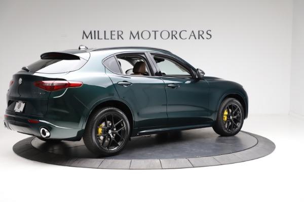New 2021 Alfa Romeo Stelvio Ti Q4 for sale $53,650 at Bentley Greenwich in Greenwich CT 06830 8