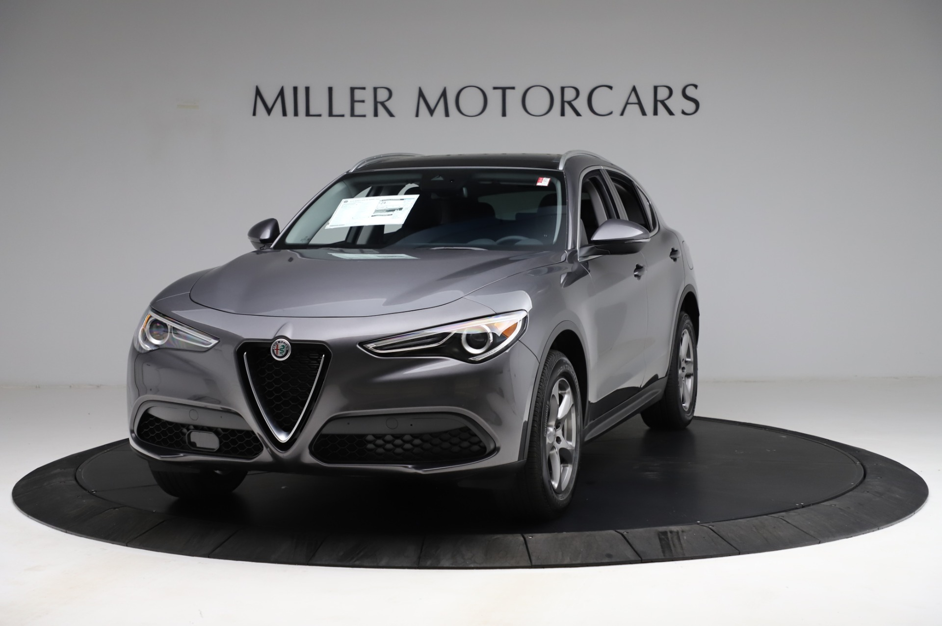 New 2021 Alfa Romeo Stelvio Q4 for sale $48,900 at Bentley Greenwich in Greenwich CT 06830 1