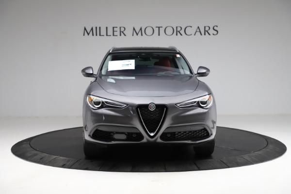 New 2021 Alfa Romeo Stelvio Ti Q4 for sale $55,500 at Bentley Greenwich in Greenwich CT 06830 13