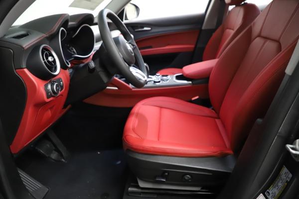 New 2021 Alfa Romeo Stelvio Ti Q4 for sale $55,500 at Bentley Greenwich in Greenwich CT 06830 16