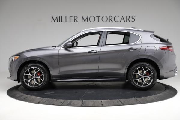 New 2021 Alfa Romeo Stelvio Ti Q4 for sale $55,500 at Bentley Greenwich in Greenwich CT 06830 3