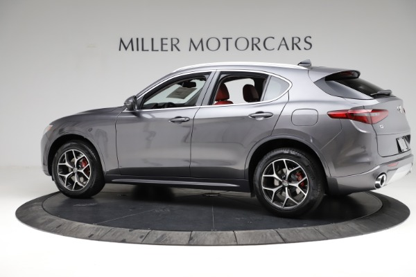 New 2021 Alfa Romeo Stelvio Ti Q4 for sale $55,500 at Bentley Greenwich in Greenwich CT 06830 4