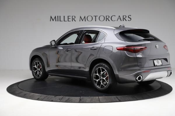 New 2021 Alfa Romeo Stelvio Ti Q4 for sale $55,500 at Bentley Greenwich in Greenwich CT 06830 5