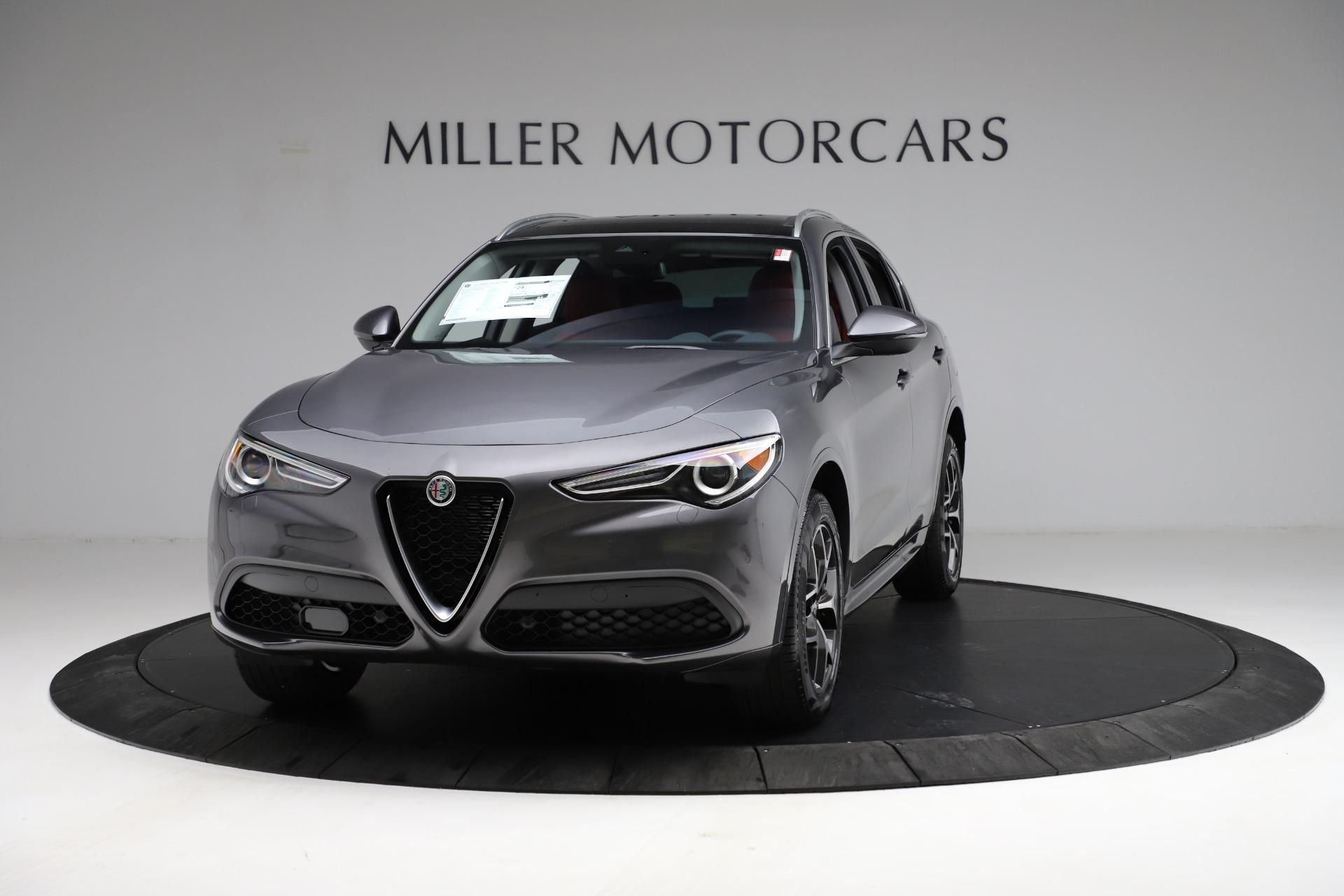 New 2021 Alfa Romeo Stelvio Ti Q4 for sale $55,500 at Bentley Greenwich in Greenwich CT 06830 1