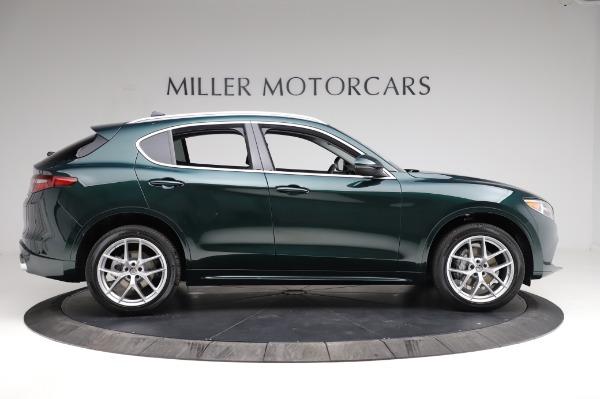 New 2021 Alfa Romeo Stelvio Ti Q4 for sale $53,500 at Bentley Greenwich in Greenwich CT 06830 10