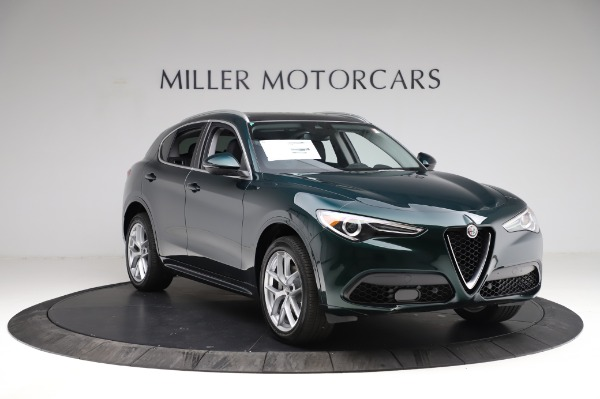New 2021 Alfa Romeo Stelvio Ti Q4 for sale $53,500 at Bentley Greenwich in Greenwich CT 06830 12