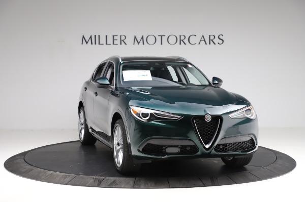 New 2021 Alfa Romeo Stelvio Ti Q4 for sale $53,500 at Bentley Greenwich in Greenwich CT 06830 13