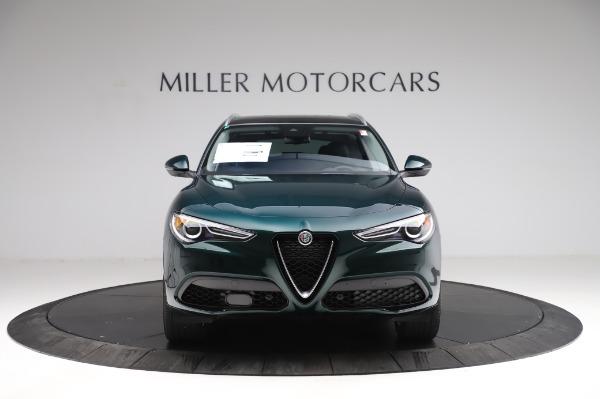 New 2021 Alfa Romeo Stelvio Ti Q4 for sale $53,500 at Bentley Greenwich in Greenwich CT 06830 14