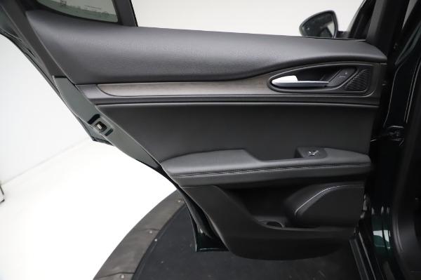 New 2021 Alfa Romeo Stelvio Ti Q4 for sale $53,500 at Bentley Greenwich in Greenwich CT 06830 23