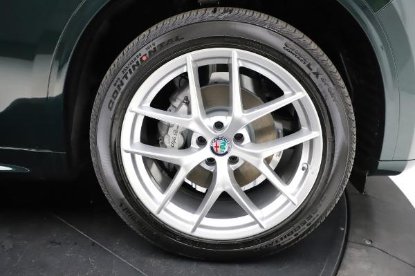 New 2021 Alfa Romeo Stelvio Ti Q4 for sale $53,500 at Bentley Greenwich in Greenwich CT 06830 26