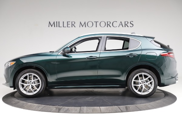 New 2021 Alfa Romeo Stelvio Ti Q4 for sale $53,500 at Bentley Greenwich in Greenwich CT 06830 3