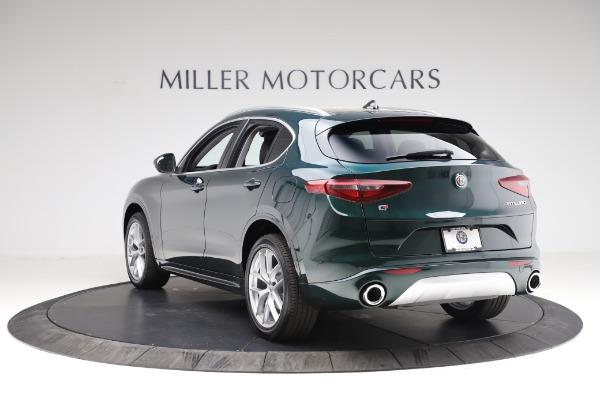 New 2021 Alfa Romeo Stelvio Ti Q4 for sale $53,500 at Bentley Greenwich in Greenwich CT 06830 5