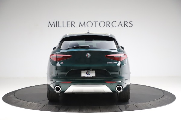 New 2021 Alfa Romeo Stelvio Ti Q4 for sale $53,500 at Bentley Greenwich in Greenwich CT 06830 7