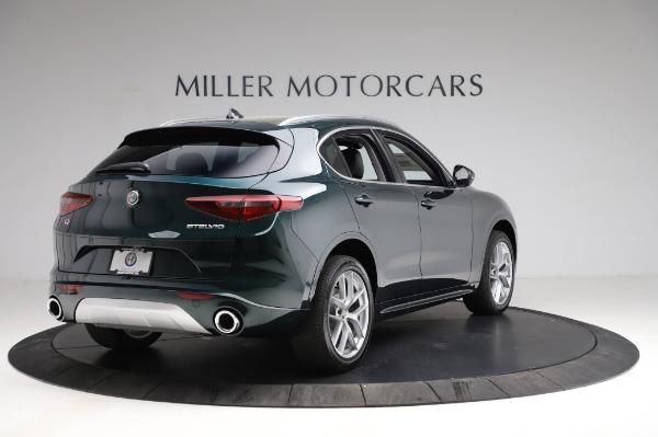 New 2021 Alfa Romeo Stelvio Ti Q4 for sale $53,500 at Bentley Greenwich in Greenwich CT 06830 8