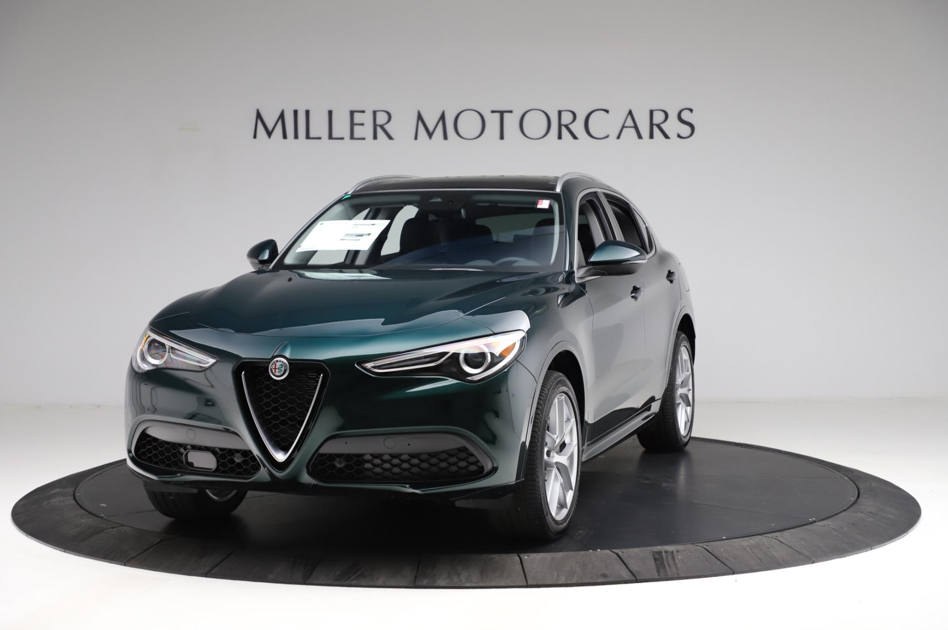 New 2021 Alfa Romeo Stelvio Ti Q4 for sale $53,500 at Bentley Greenwich in Greenwich CT 06830 1