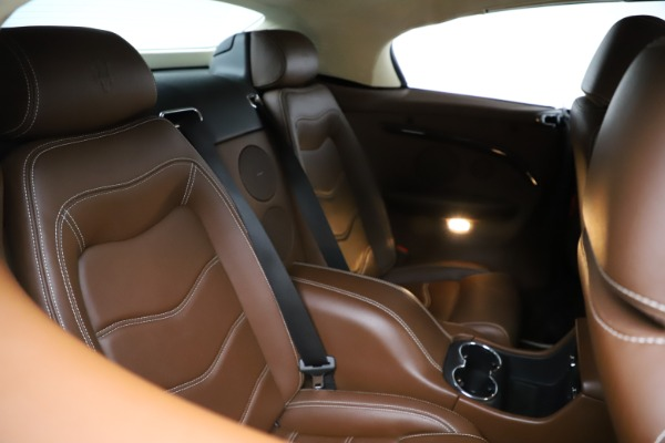 Used 2013 Maserati GranTurismo Sport for sale Sold at Bentley Greenwich in Greenwich CT 06830 17