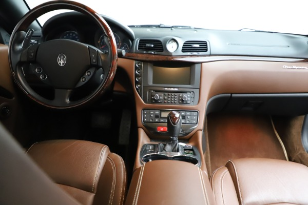 Used 2013 Maserati GranTurismo Sport for sale Sold at Bentley Greenwich in Greenwich CT 06830 21