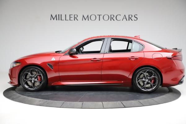 New 2021 Alfa Romeo Giulia Quadrifoglio for sale Sold at Bentley Greenwich in Greenwich CT 06830 2