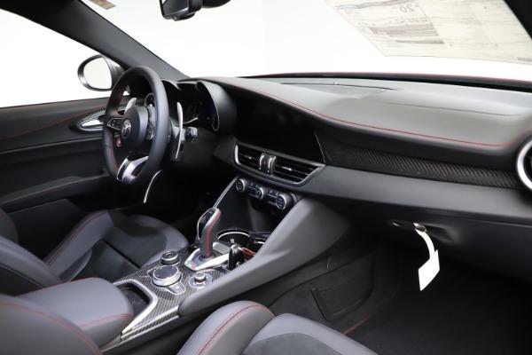 New 2021 Alfa Romeo Giulia Quadrifoglio for sale Sold at Bentley Greenwich in Greenwich CT 06830 22
