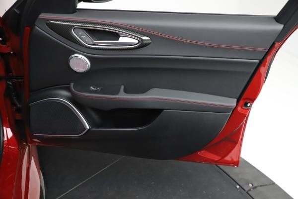 New 2021 Alfa Romeo Giulia Quadrifoglio for sale Sold at Bentley Greenwich in Greenwich CT 06830 24