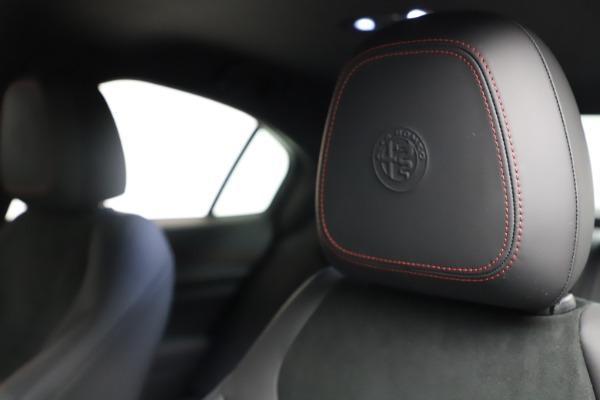 New 2021 Alfa Romeo Giulia Quadrifoglio for sale Sold at Bentley Greenwich in Greenwich CT 06830 28