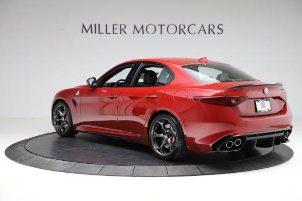 New 2021 Alfa Romeo Giulia Quadrifoglio for sale Sold at Bentley Greenwich in Greenwich CT 06830 3