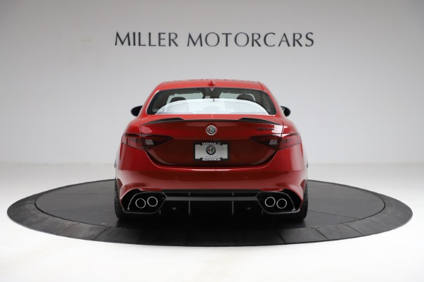 New 2021 Alfa Romeo Giulia Quadrifoglio for sale Sold at Bentley Greenwich in Greenwich CT 06830 4
