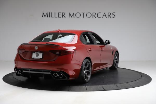 New 2021 Alfa Romeo Giulia Quadrifoglio for sale Sold at Bentley Greenwich in Greenwich CT 06830 5