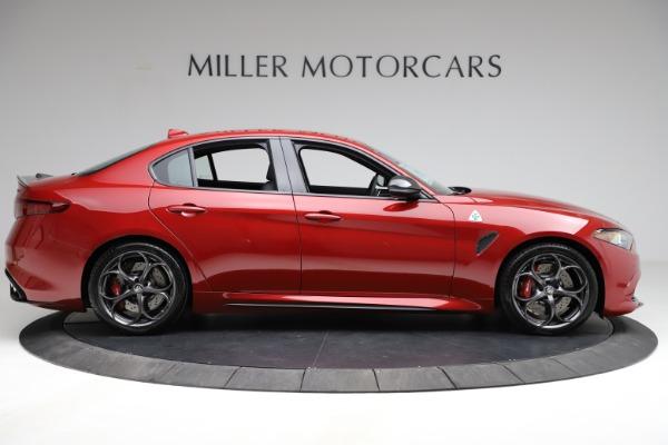 New 2021 Alfa Romeo Giulia Quadrifoglio for sale Sold at Bentley Greenwich in Greenwich CT 06830 7