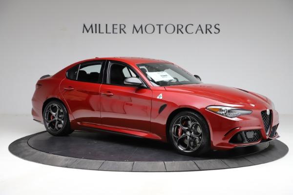 New 2021 Alfa Romeo Giulia Quadrifoglio for sale Sold at Bentley Greenwich in Greenwich CT 06830 8