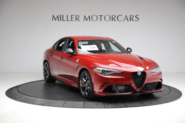 New 2021 Alfa Romeo Giulia Quadrifoglio for sale Sold at Bentley Greenwich in Greenwich CT 06830 9
