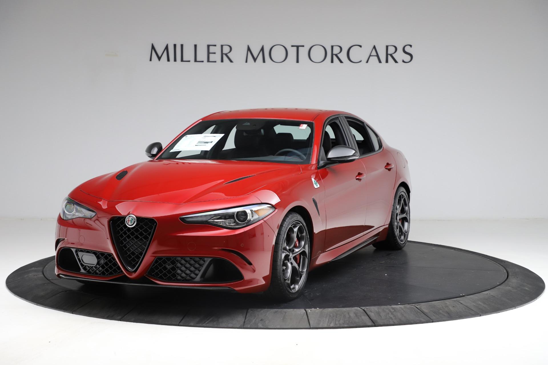 New 2021 Alfa Romeo Giulia Quadrifoglio for sale Sold at Bentley Greenwich in Greenwich CT 06830 1