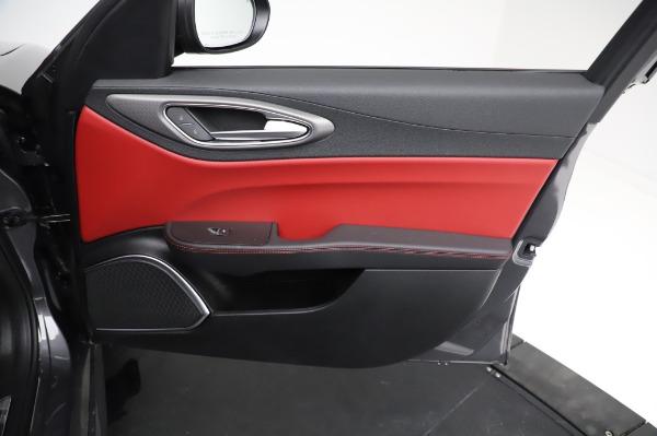 New 2021 Alfa Romeo Giulia Ti Sport for sale $54,050 at Bentley Greenwich in Greenwich CT 06830 23