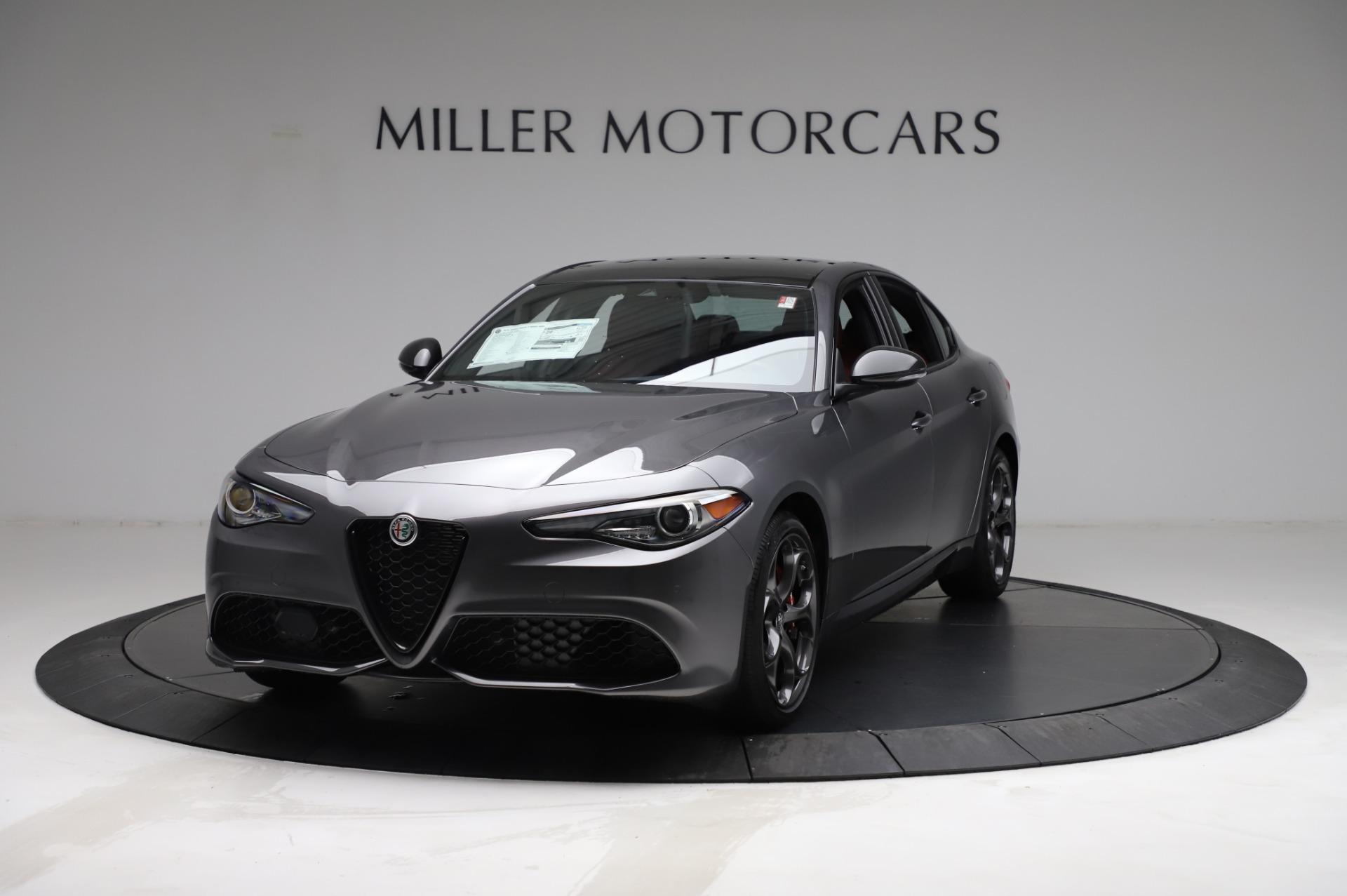 New 2021 Alfa Romeo Giulia Ti Sport for sale $54,050 at Bentley Greenwich in Greenwich CT 06830 1